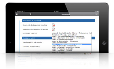 Genera documentacion LOPD automaticamente con LOPD MANAGER