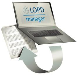 Genera la documentacion lopd automaticamente