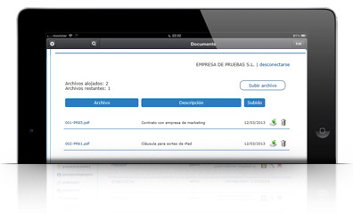 Docuemtacion proteccion datos LOPD MANAGER repositorio