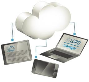 Trabaja en Mobilidad con nuestro software lopd en la nube